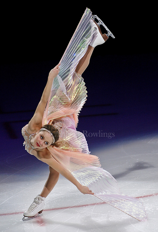 (040509  Boston, MA) Sasha Cohen performs during the Smucker's Stars on Ice show at the TD BankNorth Garden, Sunday,  April 05, 2009.  Staff photo by Angela Rowlings.