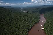 Mazaruni River<br /> Pakaraima Mountains<br /> GUYANA<br /> South America<br /> Longest river in Guyana