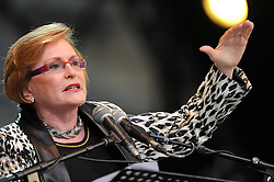 Dec. 11, 2013 - Cape Town, Western Cape, South Africa - The Premier of the Western Cape, HELEN ZILLE, during the City of Cape Town hosted concert at the 45000 seater Cape Town Stadium called ''Nelson Mandela - A life Celebrated''. Nelson Mandela was the first democratically elected president of South Africa, Wednesday, 11th December 2013. Picture by Roger Sedres / i-Images (Credit Image: © Roger Sedres/i-Images/ZUMAPRESS.com)