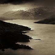 Beinn A'Choin & Loch Katrine from Ben A'an