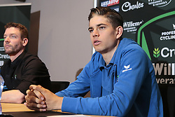 March 30, 2018 - France - BEVEREN, BELGIUM - MARCH 30 : VAN AERT Wout  (BEL) of Veranda's Willems - Crelan pictured during a press conference prior the 102th Ronde Van Vlaanderen by Flanders Classics at the Biznis Hotel on March 30, 2018 in Beveren, Belgium, 30/03/18 (Credit Image: © Panoramic via ZUMA Press)
