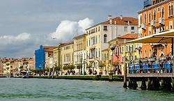 Buildings alongside the Grand Canal in Venice Italy<br /> <br /> (c) Andrew Wilson   Edinburgh Elite media