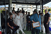 Chris Read after the Specsavers County Champ Div 2 match between Sussex County Cricket Club and Nottinghamshire County Cricket Club at the 1st Central County Ground, Hove, United Kingdom on 28 September 2017. Photo by Simon Trafford.