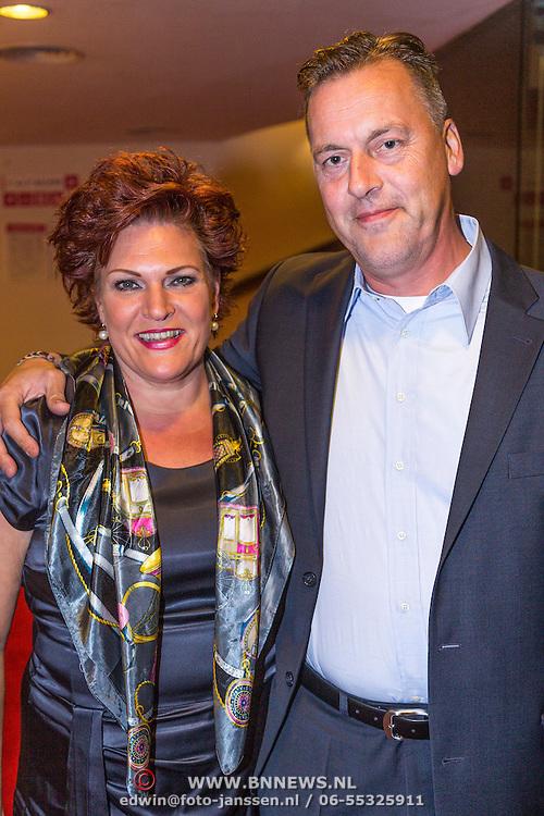 NLD/Leiden/20130930 - Premiere Garland, Marjolein Touw en partner Rob