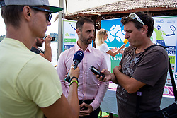 Aljaz Kos (director of Zavarovalnica Sava) at press conference of ATP Challenger Zavarovalnica Sava Slovenia Open 2018, on August 6, 2018 in Sports centre, Portoroz/Portorose, Slovenia. Photo by Urban Urbanc / Sportida