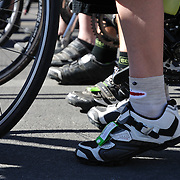 Feet and wheels at the start of Ride On, Tucson, 2013. Bike-tography by Martha Retallick.