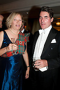 ALEX FOLEY-MCGEHEE; THOMAS GREGORY MCGEHEE, The Royal Caledonian Ball 2011. In aid of the Royal Caledonian Ball Trust. Grosvenor House. London. W1. 13 May 2011.<br /> <br />  , -DO NOT ARCHIVE-© Copyright Photograph by Dafydd Jones. 248 Clapham Rd. London SW9 0PZ. Tel 0207 820 0771. www.dafjones.com.