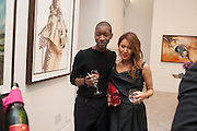 MALCOLM MAFORA; MIMI NISHIKAWA, Opening of Bailey's Stardust - Exhibition - National Portrait Gallery London. 3 February 2014