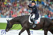 Karen Tebar - Don Luis<br /> FEI European Championships Aachen 2015<br /> © DigiShots