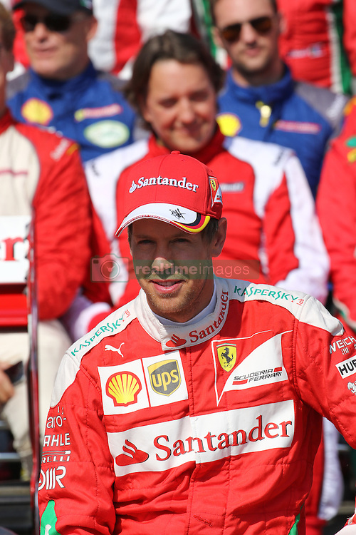 Sebastian Vettel (GER#5), Scuderia Ferrari bei den Ferrari Racing Days am Hockenheimring 2016<br /> <br /> / 110916<br /> <br /> <br /> ***Ferrari Racing Days on September 11, 2016 at Hockenheimring, Germany.***