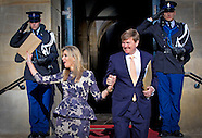 BIRTHDAY PARTY FOR KING WILLEM ALEXANDER IN DAM PALACE