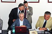 DESCRIZIONE : Roma Coni Conferenza Stampa Nazionale Italia Under 18 Maschile Basket On Board sulla portaerei Cavour<br /> GIOCATORE :Tolomei Silvestri D'Aniello Migliola<br /> CATEGORIA : curiosita ritratto<br /> SQUADRA : Fip <br /> EVENTO : Conferenza Stampa Nazionale Italia Under 18<br /> GARA : <br /> DATA : 09/07/2012 <br />  SPORT : Pallacanestro<br />  AUTORE : Agenzia Ciamillo-Castoria/GiulioCiamillo<br />  Galleria : FIP Nazionali 2012<br />  Fotonotizia : Roma Coni Conferenza Stampa Nazionale Italia Under 18 Maschile Basket On Board sulla portaerei Cavour<br />  Predefinita :