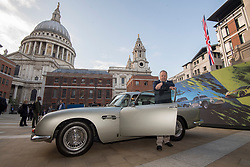 October 3, 2018 - London, London, United Kingdom - Image licensed to i-Images Picture Agency. 03/10/2018. London, United Kingdom. Aston Martin Lagonda today listed on the London Stock Exchange. Pic shows: Andy Palmer CEO of Aston Martin Lagonda outside the London Stock Exchange. (Credit Image: © i-Images via ZUMA Press)