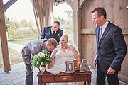 Amy and David's Beautiful Fall Langdon Hall Wedding