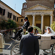 ITA/Siena/20100717 Wedding of soccerplayer Wesley Sneijder and tv host Yolanthe Cabau van Kasbergen,