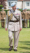 Prince Charles Attends Army Air Corps Flag Ceremony