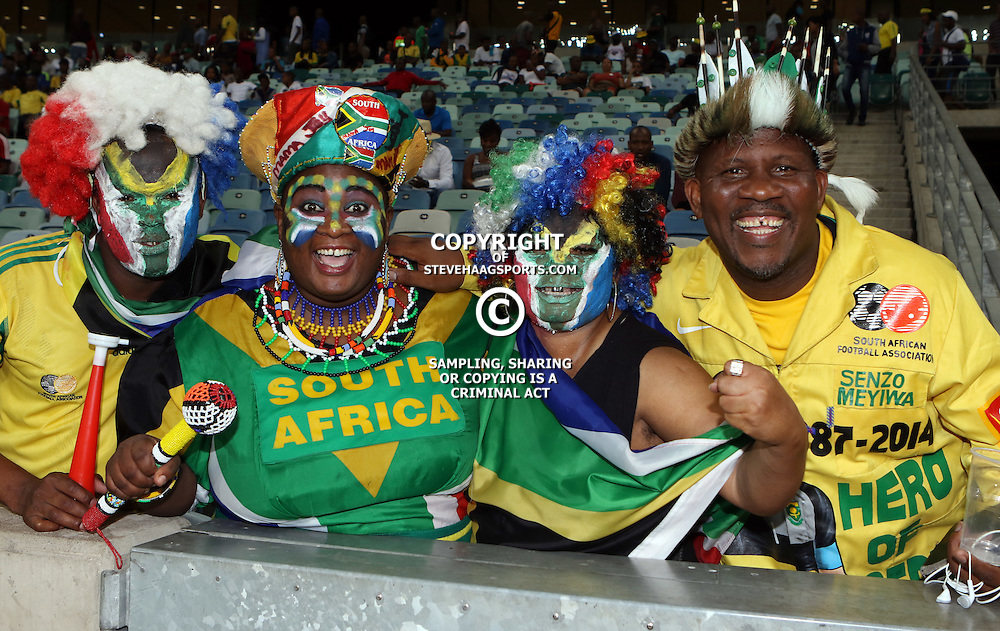 DURBAN, SOUTH AFRICA, 17 November 2015 -  GV and Action during the match between South Africa vs Angola  2018 World Cup Qualifying - Africa at the Moses Mabhida Stadium Durban, South Africa. (Photo by Steve Haag)<br /> Images for social media must have consent from Steve Haag