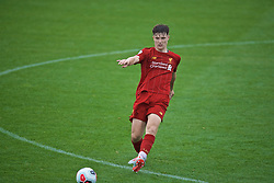 KIRKBY, ENGLAND - Saturday, August 10, 2019: Liverpool's Morgan Boyes during the Under-23 FA Premier League 2 Division 1 match between Liverpool FC and Tottenham Hotspur FC at the Academy. (Pic by David Rawcliffe/Propaganda)