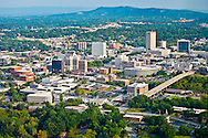 Aerial Shot - Downtown Greenville, SC