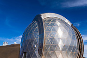 Caltech Submillimeter Observatory on the summit on Mauna Kea, The Big Island, Hawaii USA