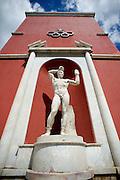 2013/06/11 Roma, nella foto la sede del CONI Comitato Olimpico Nazionale, nota anche come Foro Italico.<br /> Rome, in the picture CONI Coomitato Olimpico Nazionale (reading National Olympic Committee) head office, also named as Foro Italico - &copy; PIERPAOLO SCAVUZZO