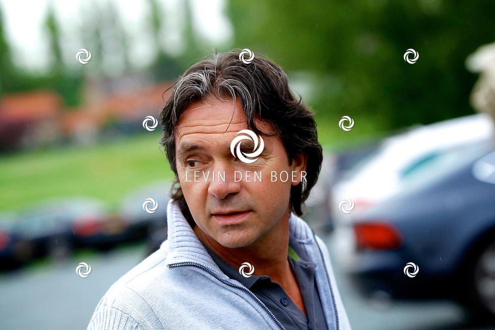 BADHOEVEDORP - De DON Masters is een celebrity golftoernooi, waarbij iedere flight bestaat uit 3 deelnemers en 1 bekende Nederlander. Het toernooi plaats op Golfclub The International. Met op de foto  Hein Vergeer. FOTO LEVIN DEN BOER - PERSFOTO.NU
