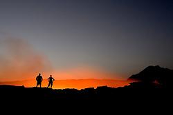 Erte Ale Volcano at dawn<br /> Ethiopia