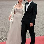 NLD/Apeldoorn/20070901 - Viering 40ste verjaardag Prins Willem Alexander, aankomst Pieter-Christiaan en Anita