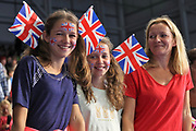 Supporters Great Britain during the Swimming European Championships Glasgow 2018, at Tollcross International Swimming Centre, in Glasgow, Great Britain, Day 5, on August 6, 2018 - Photo Laurent Lairys / ProSportsImages / DPPI