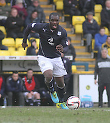 Christian Nade - Livingston v Dundee - SPFL Championship at Almondvale <br />  - &copy; David Young - www.davidyoungphoto.co.uk - email: davidyoungphoto@gmail.com