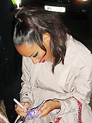 03.SEPTEMBER.2011. LONDON<br /> <br /> X FACTOR WINNER LEONA LEWIS SIGNS AUTOGRAPHS FOR FANS AFTER PERFORMING AT HEAVEN NIGHTCLUB IN LONDON.<br /> <br /> BYLINE: EDBIMAGEARCHIVE.COM<br /> <br /> *THIS IMAGE IS STRICTLY FOR UK NEWSPAPERS AND MAGAZINES ONLY*<br /> *FOR WORLD WIDE SALES AND WEB USE PLEASE CONTACT EDBIMAGEARCHIVE - 0208 954 5968*