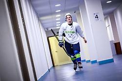 Luka Kalan at ice hockey practice one day before at IIHF World Championship DIV. I Group A Kazakhstan 2019, on April 28, 2019 in Barys Arena, Nur-Sultan, Kazakhstan. Photo by Matic Klansek Velej / Sportida