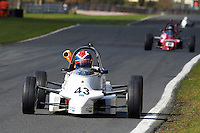 #43 Jaap BLIJLEVEN Reynard FF88 during Avon Tyres Formula Ford 1600 National & Northern Championship - Pre 90 - Qualifiying  as part of the BRSCC Oulton Park Season Opener at Oulton Park, Little Budworth, Cheshire, United Kingdom. April 09 2016. World Copyright Peter Taylor/PSP. Copy of publication required for printed pictures.  Every used picture is fee-liable.