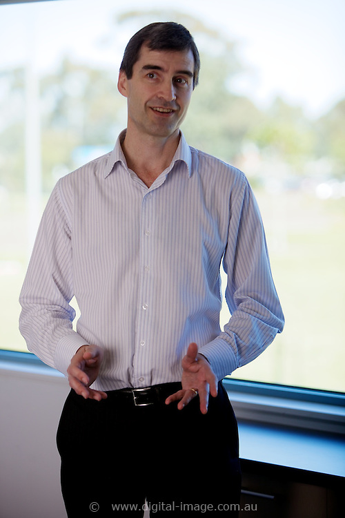 Prof Ian Gentle, Head of Science, Australian Synchrotron