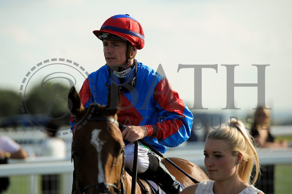 Broadhaven Dream ridden by Kieran O'Neill and trained by Ronald Harris in the Visit Valuerater.Co.Uk For Best Free Tips Handicap (Value Rater Racing Club Summer Sprint Qual) race.  - Ryan Hiscott/JMP - 02/08/2019 - PR - Bath Racecourse - Bath, England - Race Meeting at Bath Racecourse
