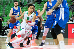 Issuf Sanon of Petrol Olimpija during 2nd leg basketball match between KK Petrol Olimpija and KK Rogaska in quarter final of  Pokal SPAR 2018/19, on January 14, 2019 in Arena Stozice, Ljubljana, Slovenia. Photo by Matic Ritonja / Sportida