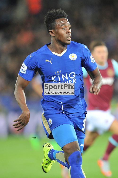 Joe DodooLeicester City v West Ham Utd, Carling Cup, King Power Stadium, Tuesday 22nd September 2015.