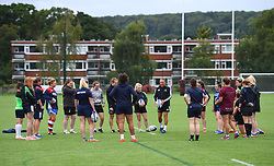 Dave Alred offers kicking advice to Bristol Ladies - Mandatory by-line: Paul Knight/JMP - 29/07/2017 - RUGBY - Bristol Ladies Rugby pre-season training