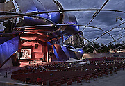 Frank Gehry design, Chicago, 1999-2004