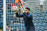 Blackburn Rovers goalkeeper David Raya  during the The FA Cup match between Blackburn Rovers and West Ham United at Ewood Park, Blackburn, England on 21 February 2016. Photo by Simon Davies.