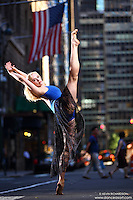 Dance As Art Photography Project Midtown Manhattan with dancer Alyssa Ness