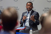 Nkosana D. Moyo, Founder and Executive Chair, Mandela Institute for Development Studies (MINDS), South Africa; Meta-Council on Inclusive Growth at the World Economic Forum on Africa 2015 in Cape Town. Copyright by World Economic Forum / Greg Beadle