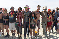 This isn't all of the crew but a few members I happened to see. My Burning Man 2018 Photos:<br />