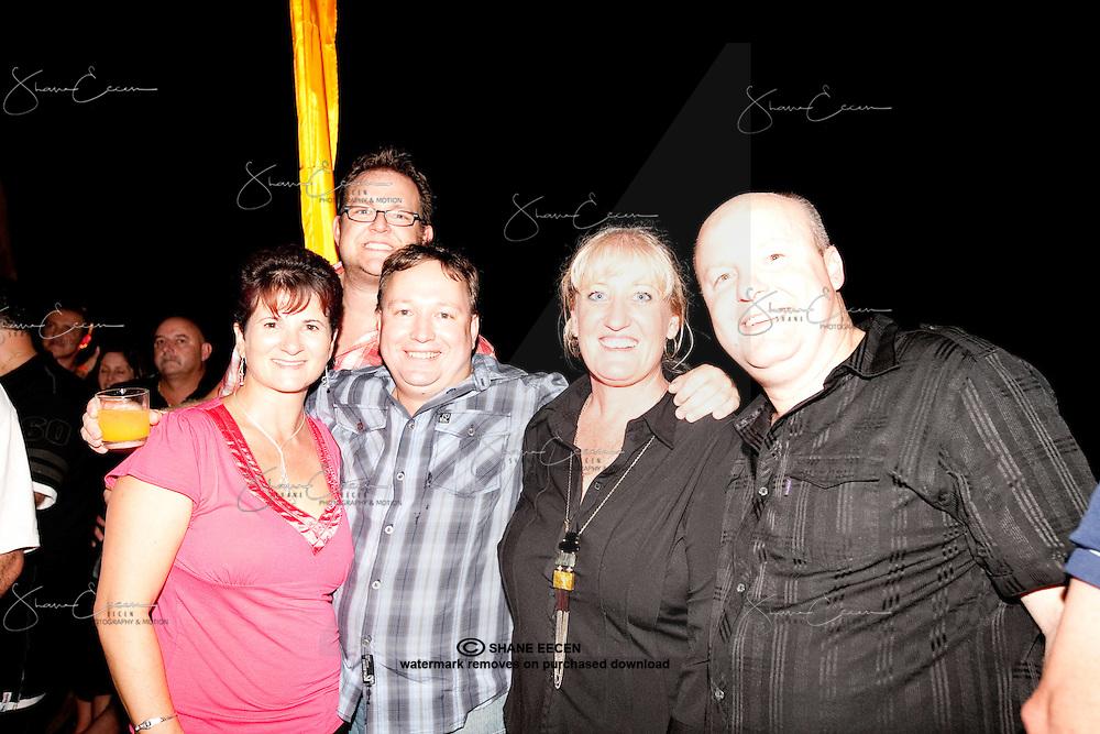 Lina King, McLean Barnett, Marty Burnup, Jenie Black & Chris Rae Celebrate the IG  Festival Of Food After Party. Photo Shane Eecen