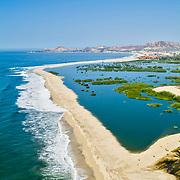 Estuary San Jose. San Jose del Cabo. Baja California Sur, Mexico.