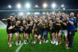 ZNK Radomlje during football match between NK Aluminij and NK Olimpija Ljubljana in the Final of Slovenian Football Cup 2017/18, on May 30, 2018 in SRC Stozice, Ljubljana, Slovenia. Photo by Vid Ponikvar / Sportida
