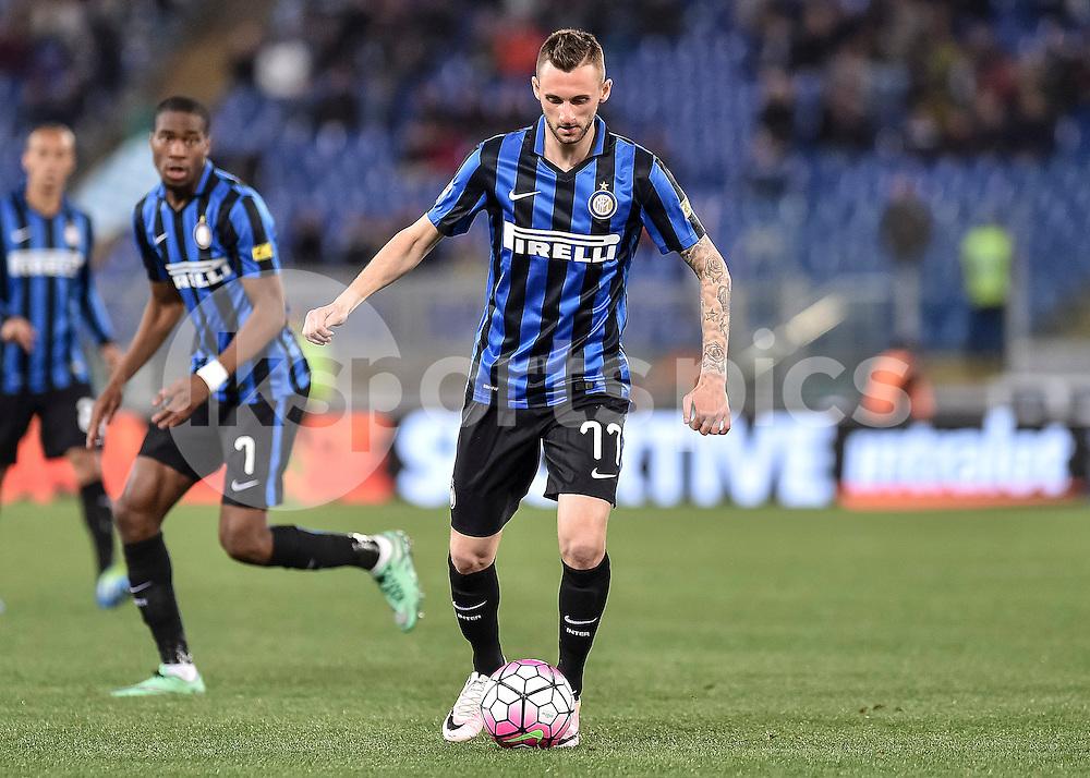 Marcelo Brozovic of Inter .Photo by Giuseppe Maffia.