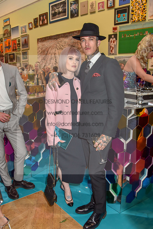 Kelly Osbourne and Jimmy Q at The Royal Academy of Arts Summer Exhibition Preview Party 2019, Burlington House, Piccadilly, London England. 04 June 2019.