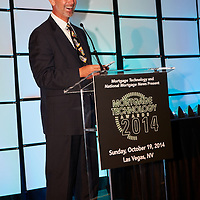 Mortgage Technology Awards 2014 John Walsh presenting .