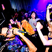 Rappers Das Racist perform in Busan, South Korea.